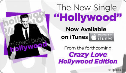Michael Buble – Hollywood Single pe iTunes