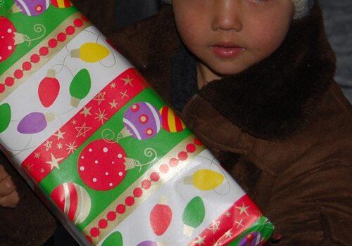 Shoe Box 2010 - ochi de copil