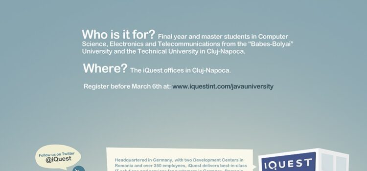 iQuest organizeaza Java University