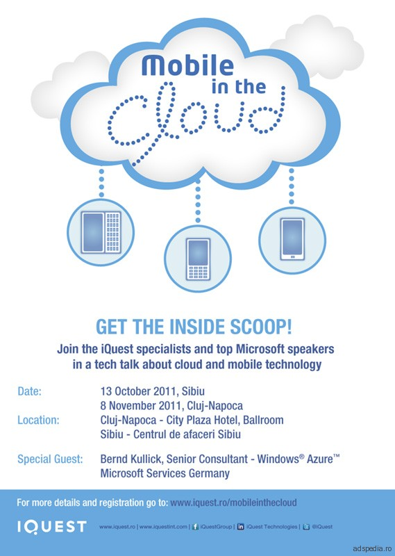 Mobile in the Cloud by iQuest