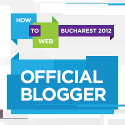 How to Web 2012, Ziua 1 Live Blogging