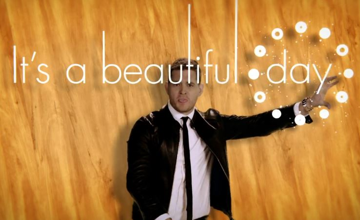 """Michael Bublé """"It's A Beautiful Day"""""""