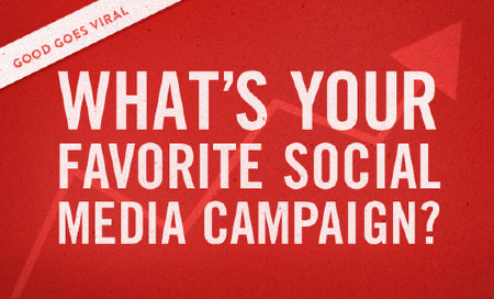 My favorite 5 Social Media Marketing Campaigns