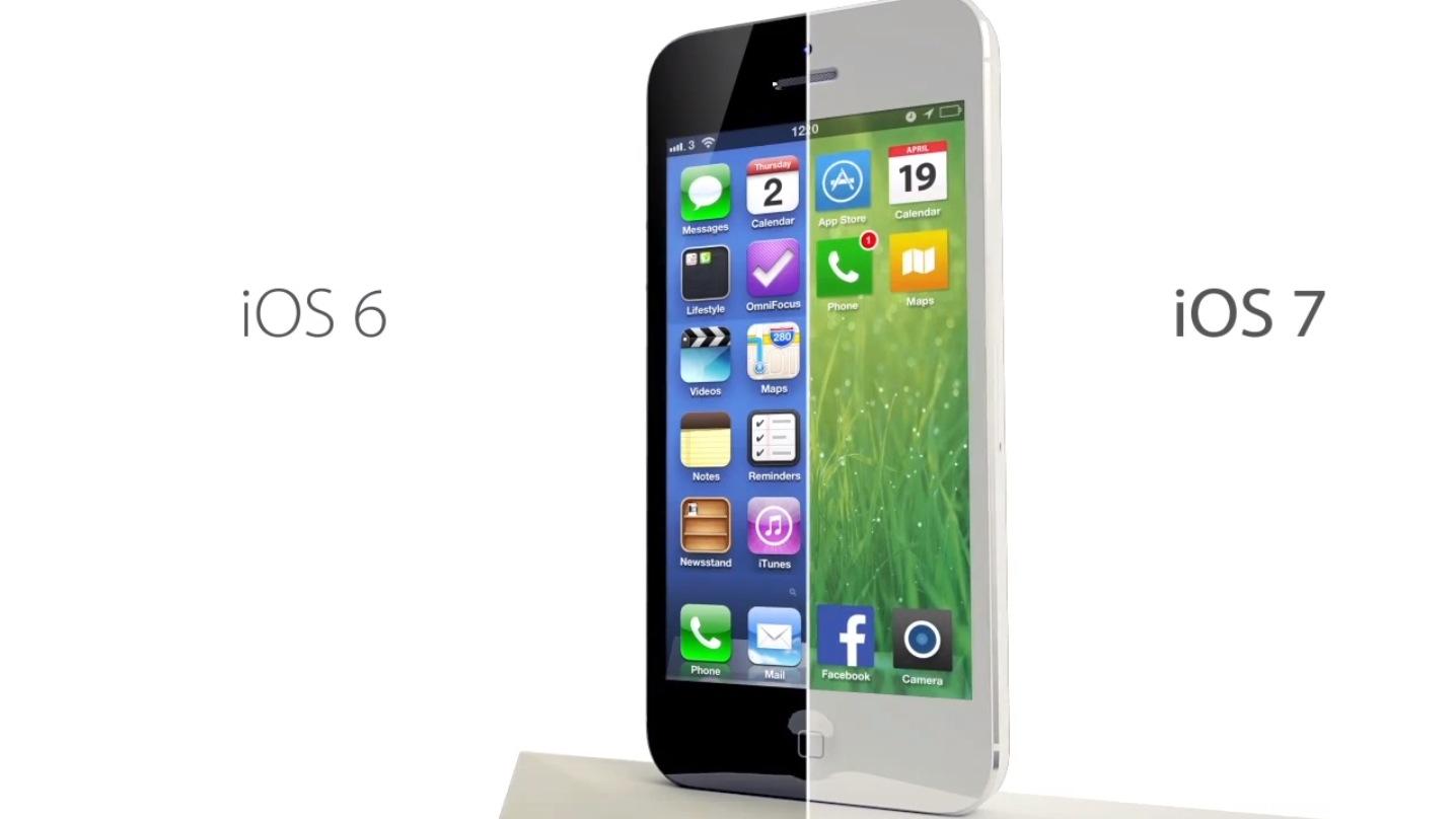 Despre iOS 7