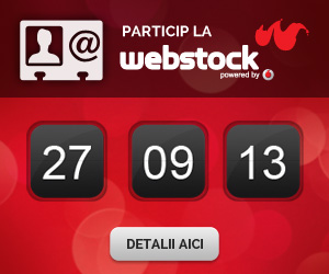 Blogger Acreditat la Webstock 2013!