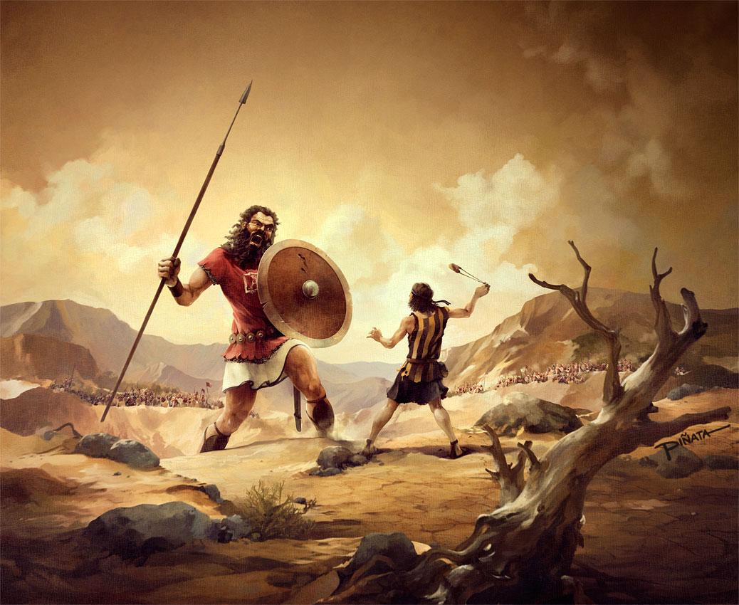 The unheard story of David and Goliath