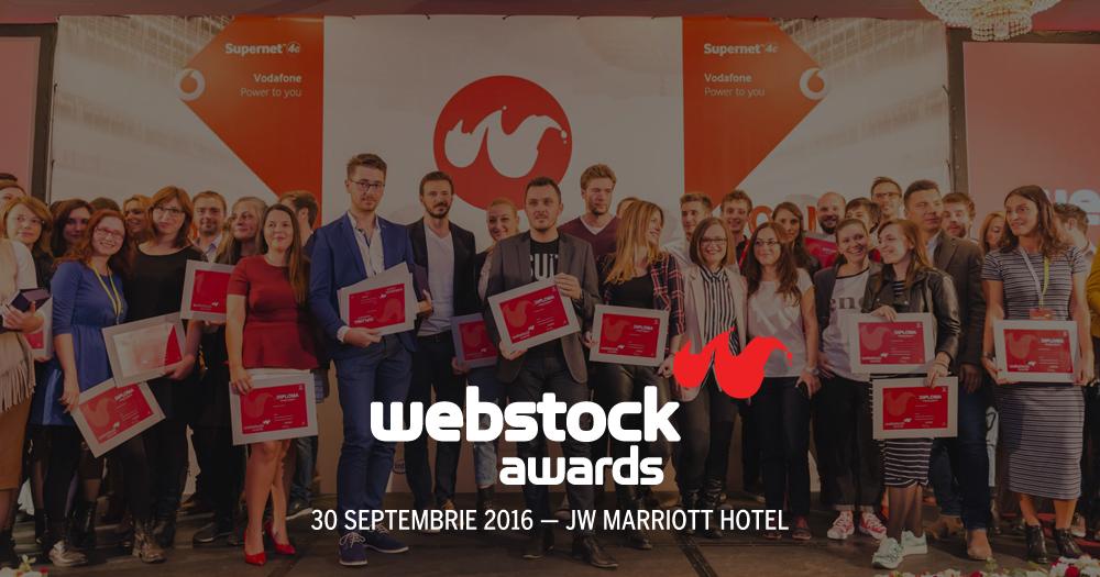 Încep înscrierile la Webstock Awards 2016