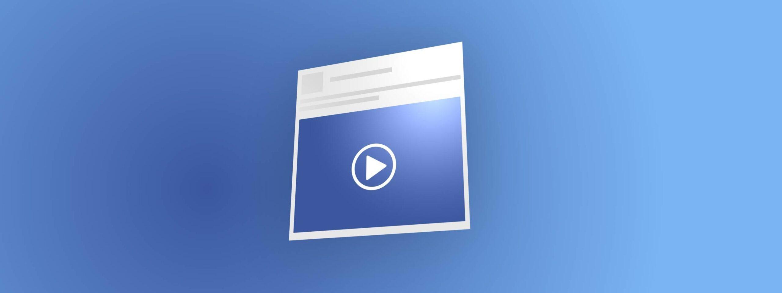Cum să publici un video premieră pe Facebook